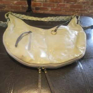 Vintage rare Nino Bossi handbag light mint green